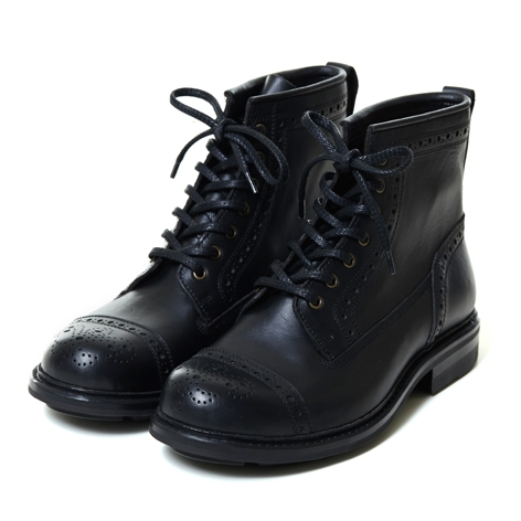 [THE KLAXON] ARGO BOOTS BLACK