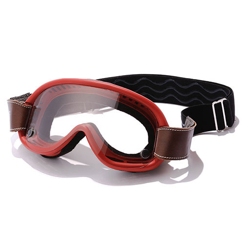 [바루팔디 빈티지 고글] BARUFFALDI SPEED4 CLASSIC GOGGLE RED (+3 LENSES)