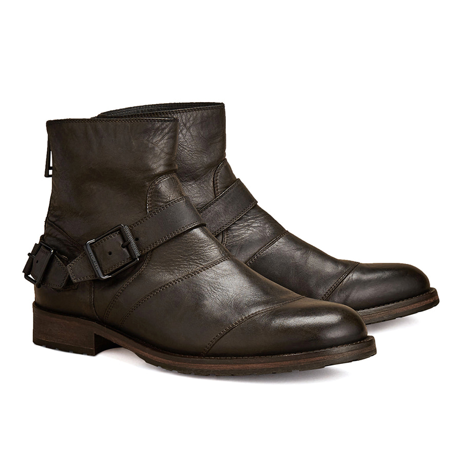 2018F/W BELSTAFF  TRIALMASTER BOOT MAN - BLACK
