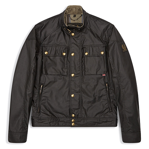 [벨스타프 레이스마스터 자켓] 2018F/W BELSTAFF RACEMASTER WAX JACKET - BLACK (LAST ONE)