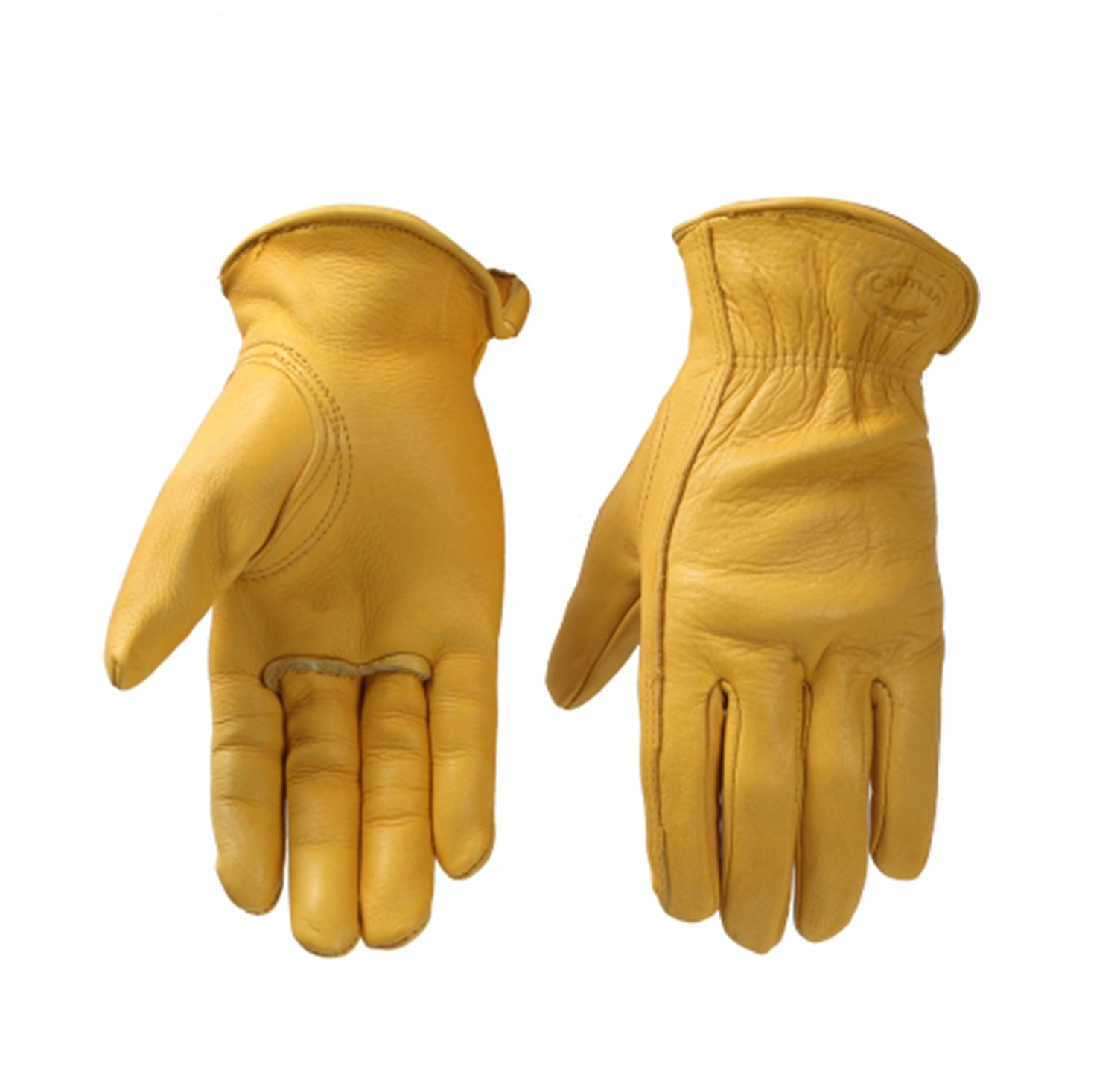 [카이맨 스크래치 리퍼브 사슴가죽 글러브] CAIMAN KOREA - 1331 OR 1330 Scratch Gold Basic Drivers Gloves(refurbished product)