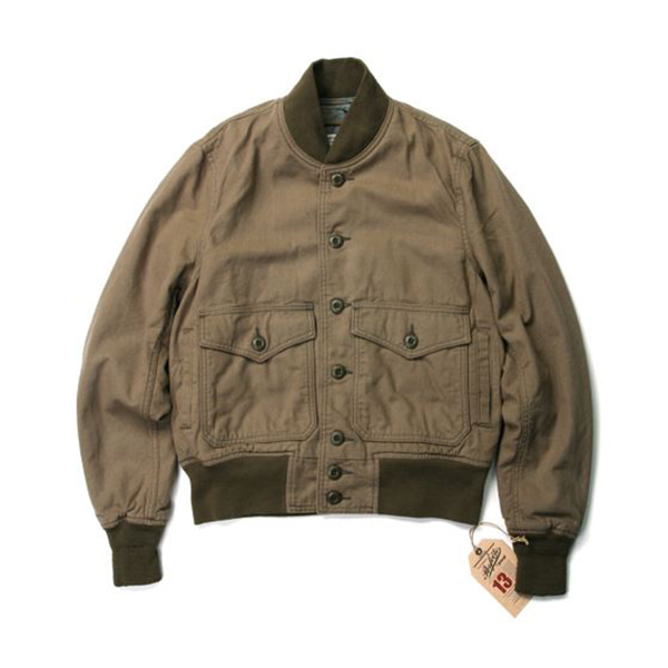 [Schott N.Y.C.] Lightweight Cotton A-1 Bomber Jacket