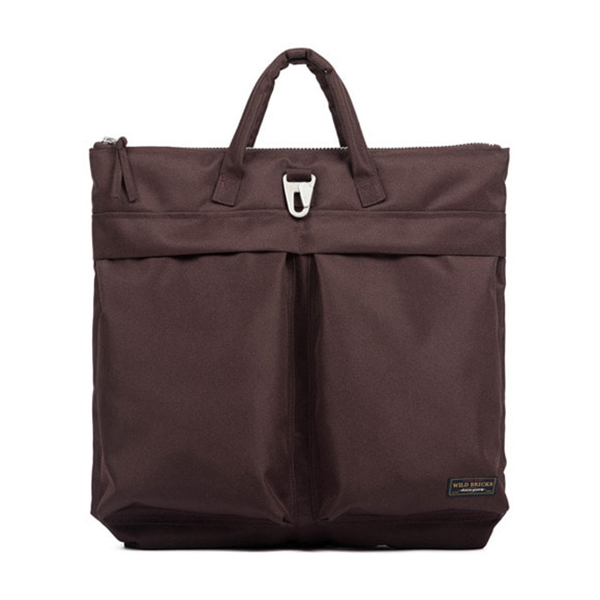 WILDBRICKS - BS HELMET BAG (burgundy)
