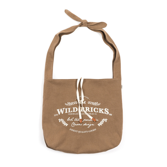 WILDBRICKS - FORD TIE BAG  (Beige)