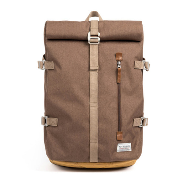 WILDBRICKS - ROLL-TOP BACKPACK (beige)