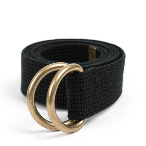WILDBRICKS - BR D-RING BELT (black)