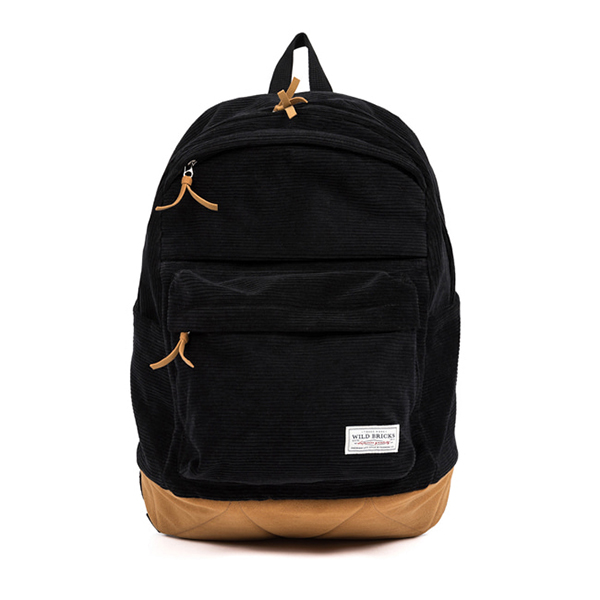 WILDBRICKS - CORDUROY UMB BAG (black)