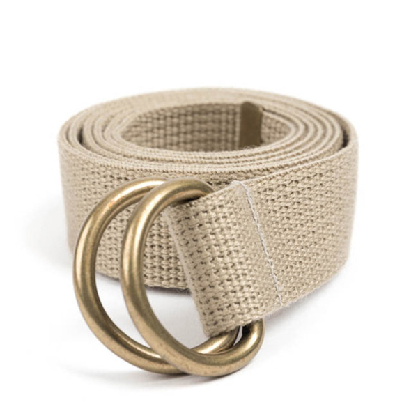 WILDBRICKS - BR D-RING BELT (beige)