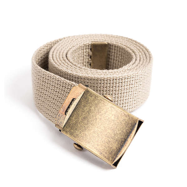 WILDBRICKS - MILITARY WEBBING BELT (beige)