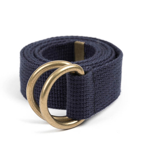 WILDBRICKS - BR D-RING BELT (navy)