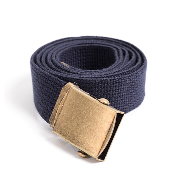 WILDBRICKS - MILITARY WEBBING BELT (navy)