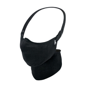 RARE BIRD LONDON - ALL BLACK LINEN FACE MASK