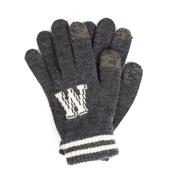 WILDBRICKS - WB TOUCH GLOVES (charcoal)