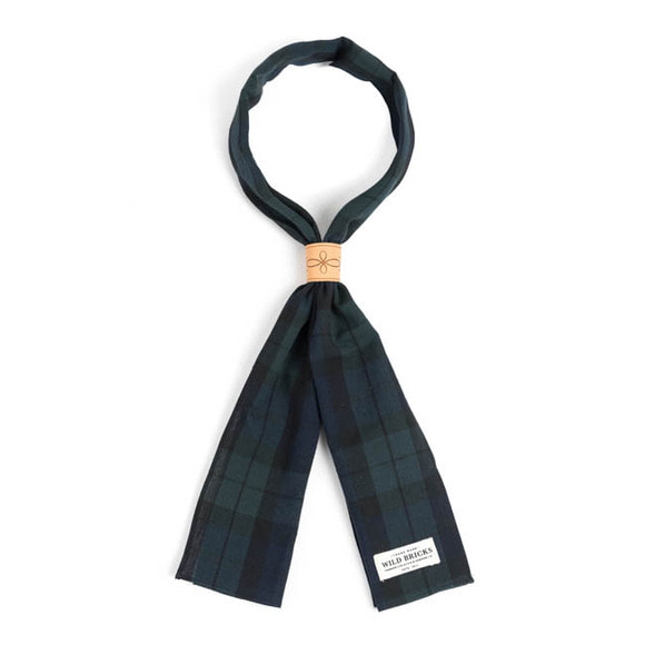 WILDBRICKS - BLACK WATCH SCARF (black watch)