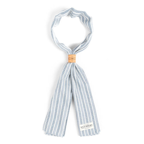 WILDBRICKS - ROPE SCARF (blue)