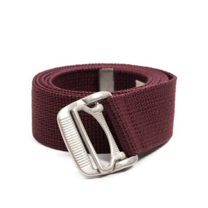 WILDBRICKS - ES WEBBING BELT (burgundy)