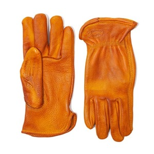 [에이징씨씨씨]AGINGCCC X CAIMAN KOREA - HAND DYEING DRIVERS GLOVES-TAN