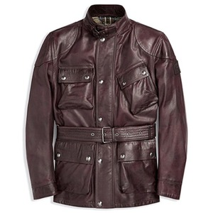 2018F/W BELSTAFF PANTHER JACKET - RECTORY RED