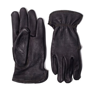 [에이징씨씨씨]AGINGCCC X CAIMAN KOREA - HAND DYEING DRIVERS GLOVES-BLACK