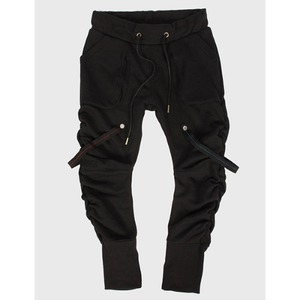 [모빈스알 모토스웻팬츠 ]MOVINS.R - TIGRIS CAMO LOVER WRINKLE PANTS BLACK
