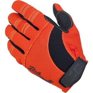 Moto Gloves - Orange/Black/Yellow