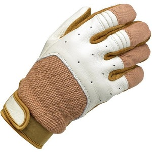 biltwell - Bantam Gloves - White/Tan