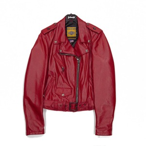 [쇼트뉴욕 여성 라이더자켓] SCHOTT N.Y.C - SPERW LEATHER JACKET / RED