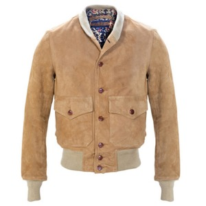 [쇼트뉴욕 가죽자켓] SCHOTT N.Y.C - A-1 Leather Bomber Jacket / sand