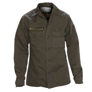 [쇼트뉴욕BDU 셔츠] SCHOTT N.Y.C.- 8701 Cotton BDU Shirt- (olive)