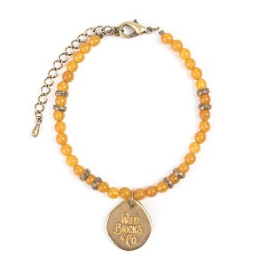 [와일드브릭스 원석 팔찌] WILDBRICKS - TH GEMSTONE BRACELET (yellow)