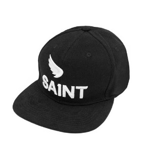 [세인트]SA1NT-  3D LOGO BRUSHED TWILL SNAPBACK BLACK