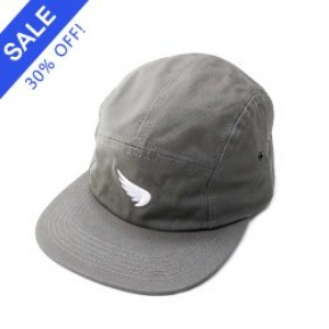 [세인트]SA1NT-  WING EMBROIDERED CAMP CAP KHAKI