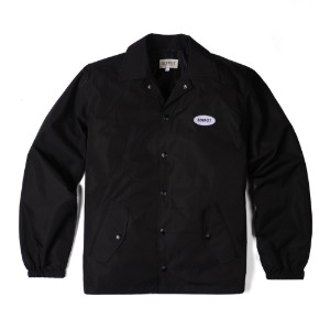 [에딜롯 버클러 코치자켓] EDIROT -  Buckler Coach jacket (BLACK)