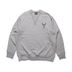 [블랙피피 스웻셔츠] BLACK P.P - Sweat Shirts (Grey)