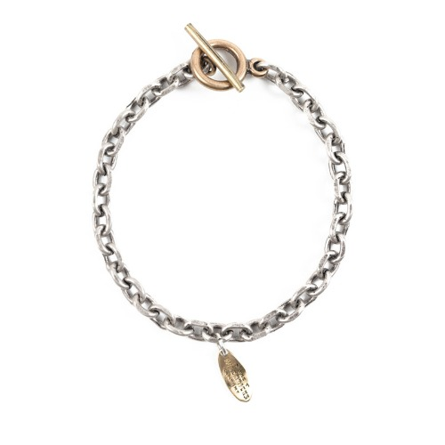 [와일드브릭스] WILD BRICKS - BD CHAIN BRACELET (brass)
